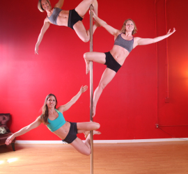Perice County pole fitness classes